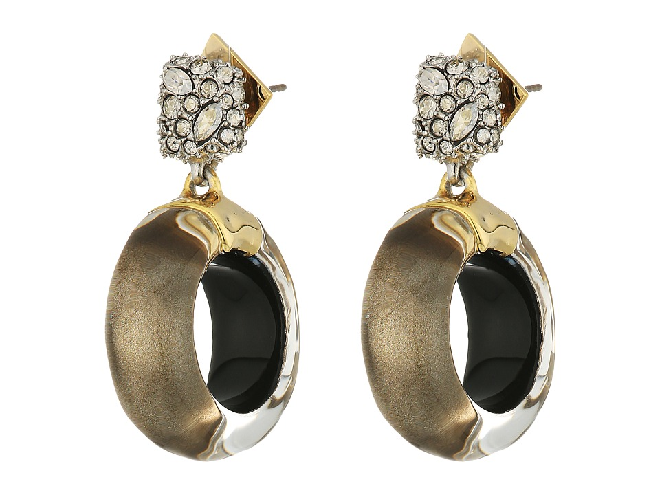 Alexis Bittar Alexis Bittar - Domed Drop Circle Post Earrings