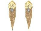 Alexis Bittar Rocky Medallion Post Earrings