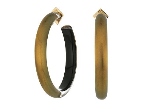 Alexis Bittar Large Hoop Earrings - Metallic Marigold