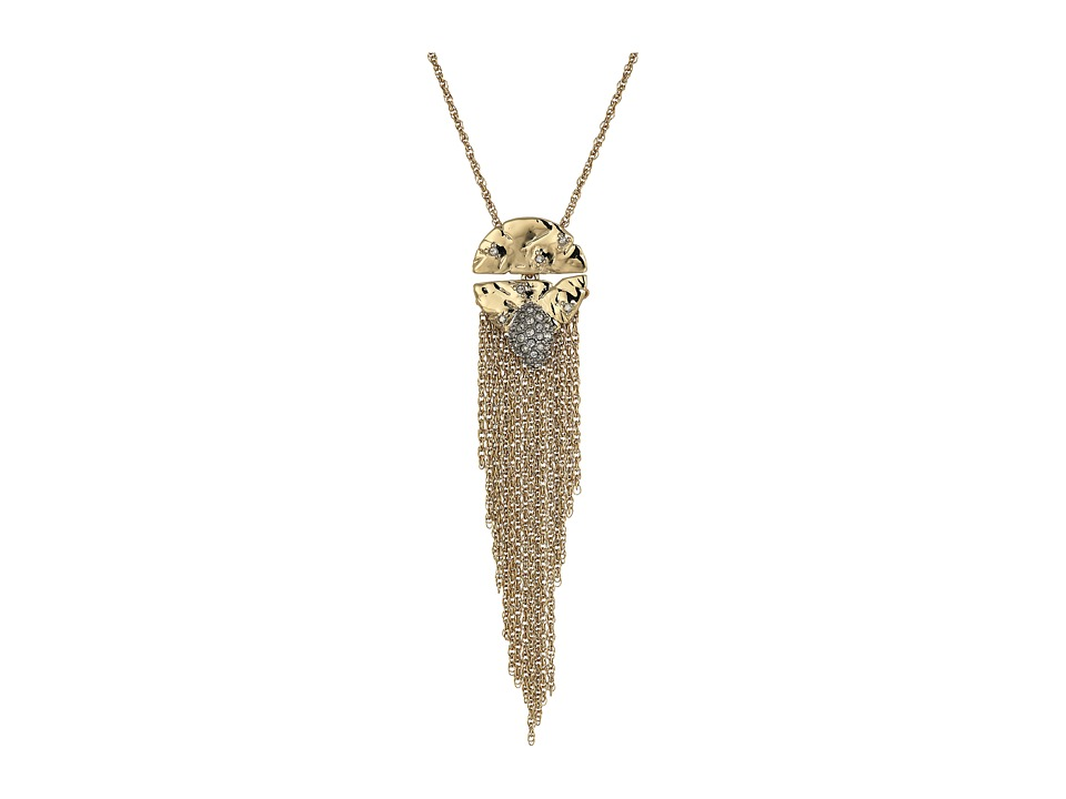 Alexis Bittar - Rocky Medallion Pendant Necklace