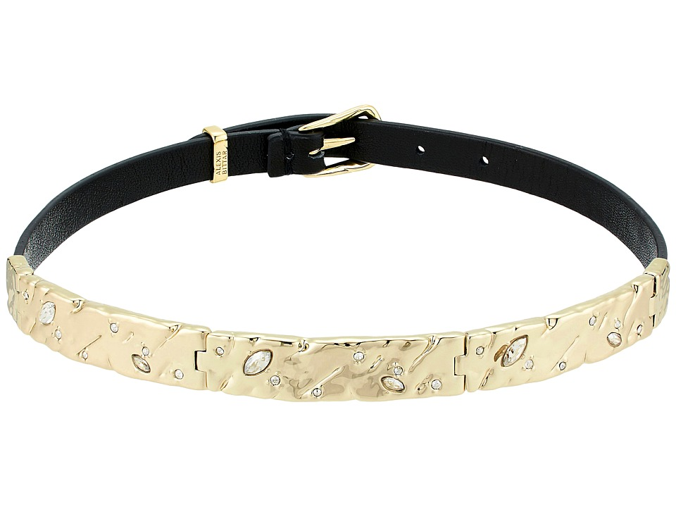 Alexis Bittar - Hinged Leather Choker Necklace