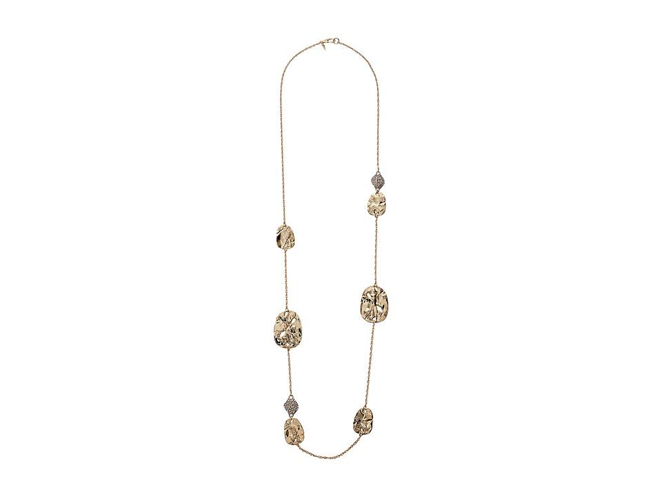 Alexis Bittar - Rocky Medallion and Crystal Pod Station Necklace
