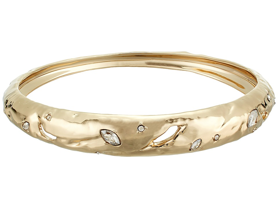 Alexis Bittar - Skinny Tapered Rocky Metal Bangle Bracelet