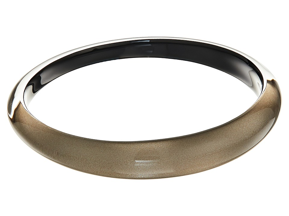 Alexis Bittar - Tapered Bangle Bracelet (Warm Grey Clear) Bracelet
