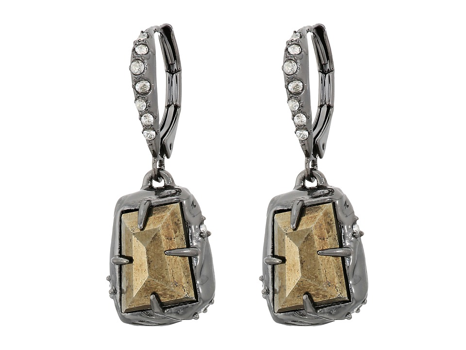 Alexis Bittar - Stone Drop Leverback Earrings