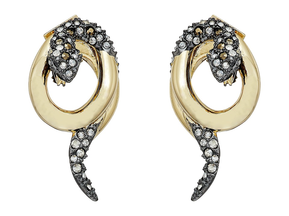 Alexis Bittar Alexis Bittar - Coiled Snake Post Earrings