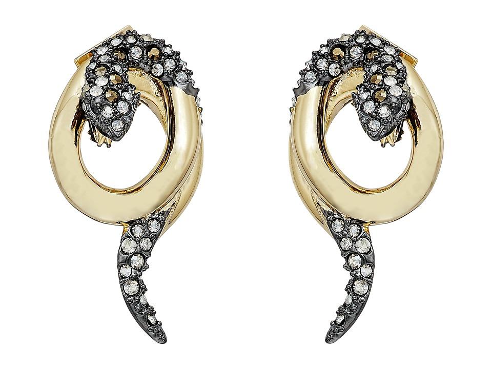 Alexis Bittar - Coiled Snake Post Earrings