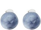 Alexis Bittar Watery Sphere Button Clip Earrings