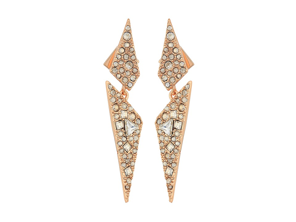 Alexis Bittar Alexis Bittar - Crystal Encrusted Dangling Origami Post Earrings
