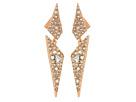 Alexis Bittar Alexis Bittar Crystal Encrusted Dangling Origami Post Earrings