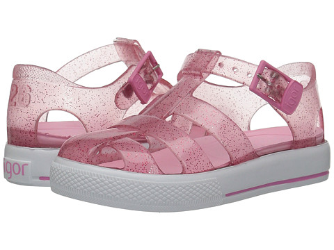 Igor Tenis (Toddler/Little Kid) - Pink Glitter