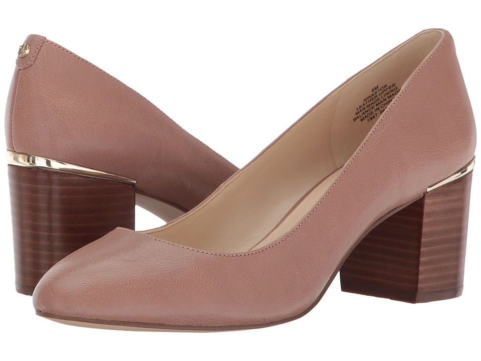 Nine West Astor (Natural Leather/Leather) Women