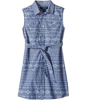 Toobydoo - Tribal Chambray Bleted Dress (Toddler/Little Kids/Big Kids)