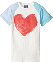 Toobydoo - Watercolor Heart Tee (Toddler/Little Kids/Big Kids)