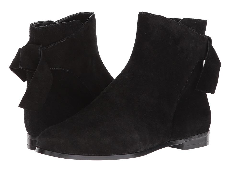 60s Shoes, Boots | 70s Shoes, Platforms, Boots Nine West - Edelira Black Suede Womens Shoes $108.95 AT vintagedancer.com