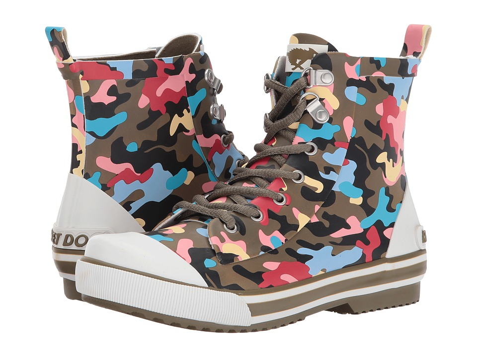 Rocket Dog Rainy (Olive Multi Candy Camo) Women