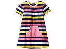 Toobydoo - Santa Monica Stripe Pocket Dress (Infant/Toddler)