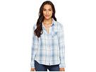 Baja Blue Plaid Long Sleeve Shirt