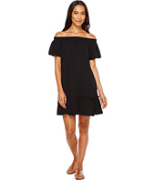 Dylan by True Grit - Summer Gauze Cotton Off Shoulder Dress