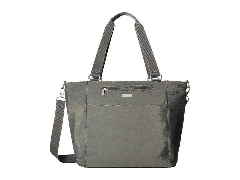 Baggallini Boulevard Laptop Tote (Pewter) Tote Handbags