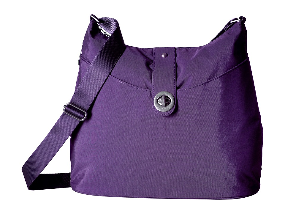 Baggallini Helsinki Silver (Grape) Handbags