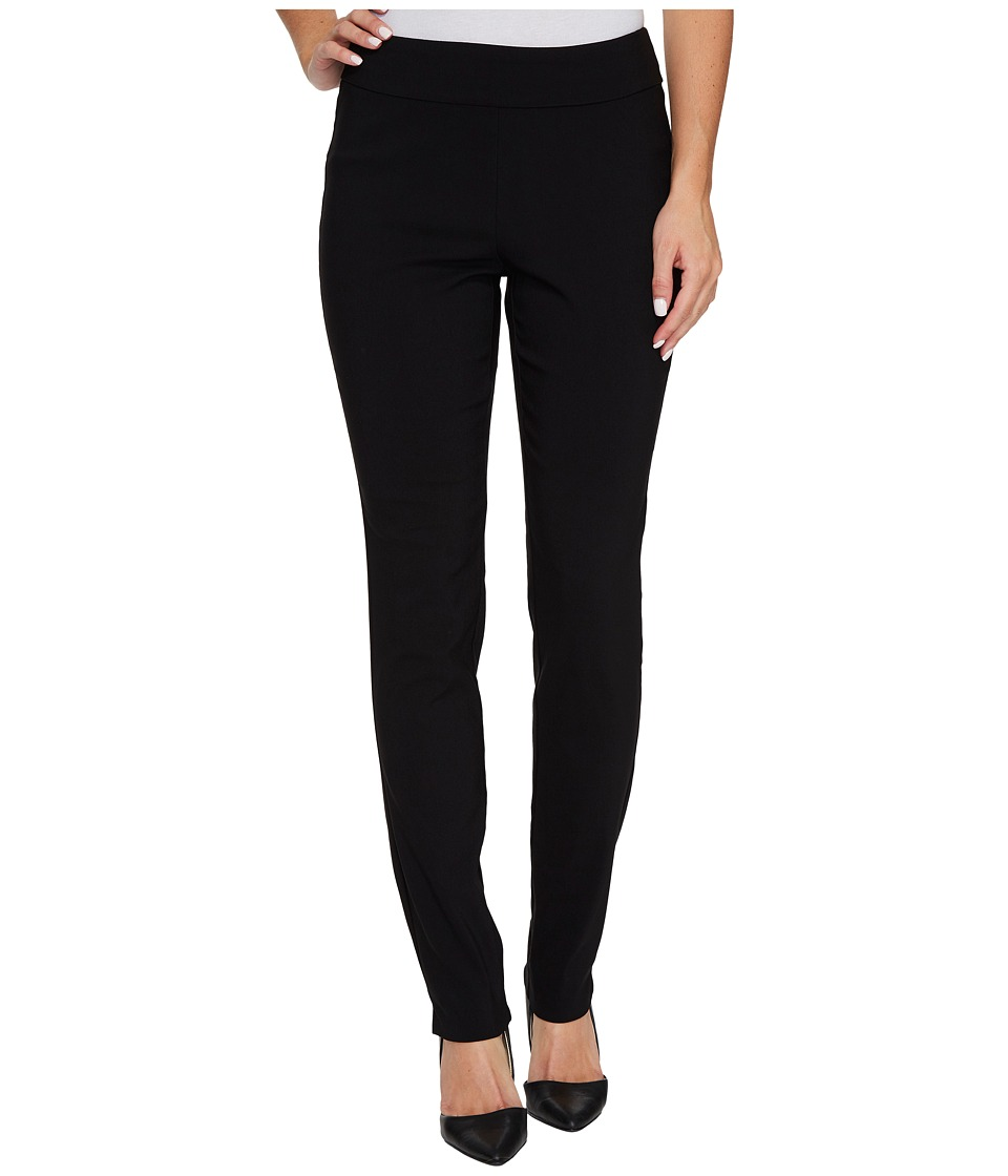 Krazy Larry - Pull-On Skinny Pants (Black) Womens Casual Pants