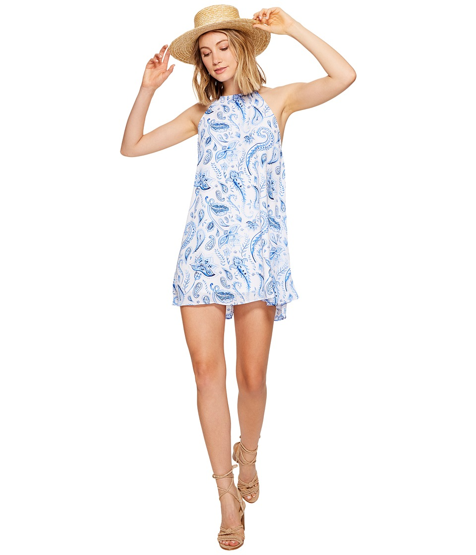 Show Me Your Mumu Katy Halter Dress (Hendigo Go Go) Women
