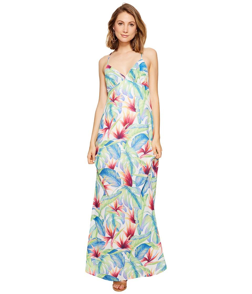 Show Me Your Mumu Amal Maxi Dress (Palm Flings) Women