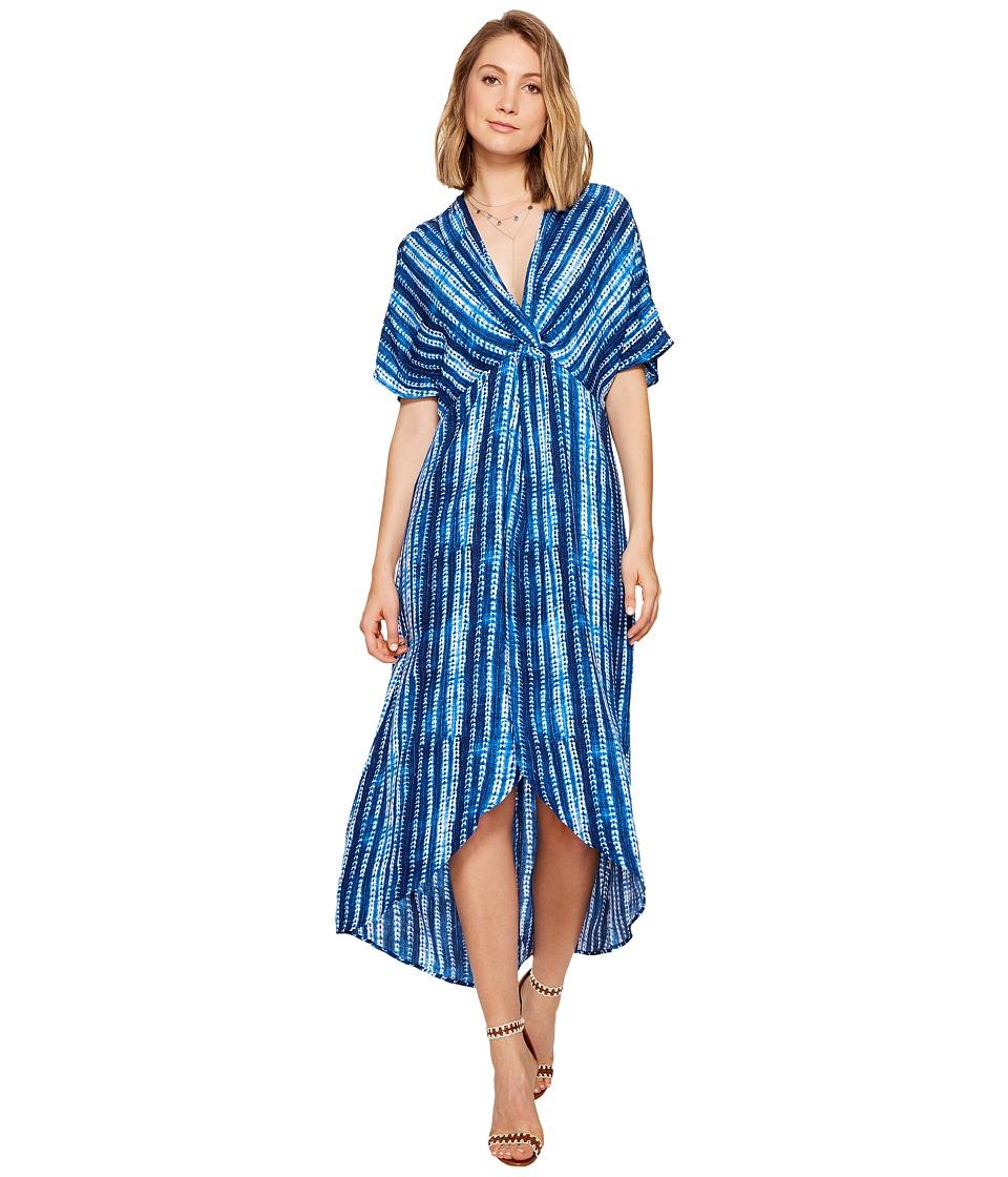 Show Me Your Mumu Get Twisted Maxi Dress (Indigo Rain) Women