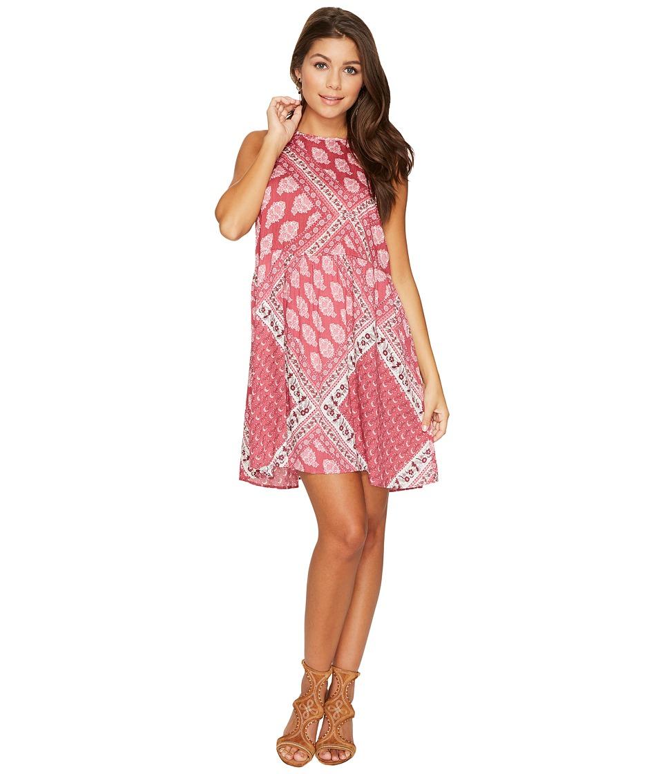 Show Me Your Mumu Darcy Dress (Red Wine Paisley) Women
