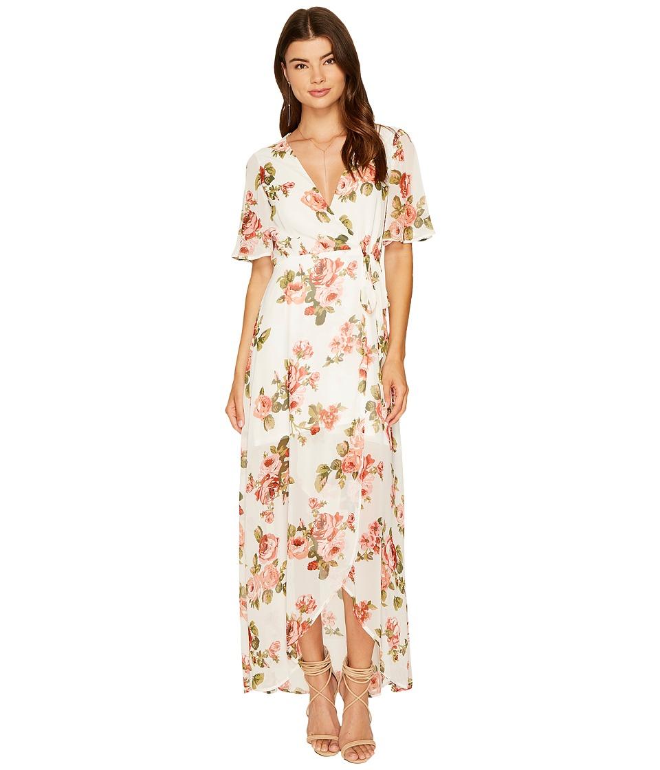 Show Me Your Mumu Marianne Wrap Dress (Rosie Posie) Women