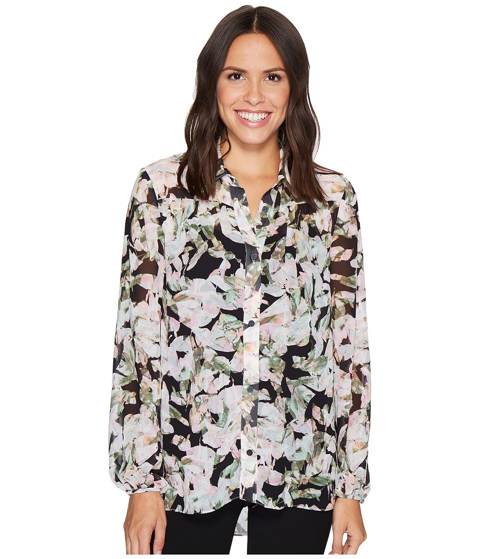 Ellen Tracy - Shirred Yoke Shirt