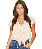 Show Me Your Mumu - Treasure Lace-Up Top