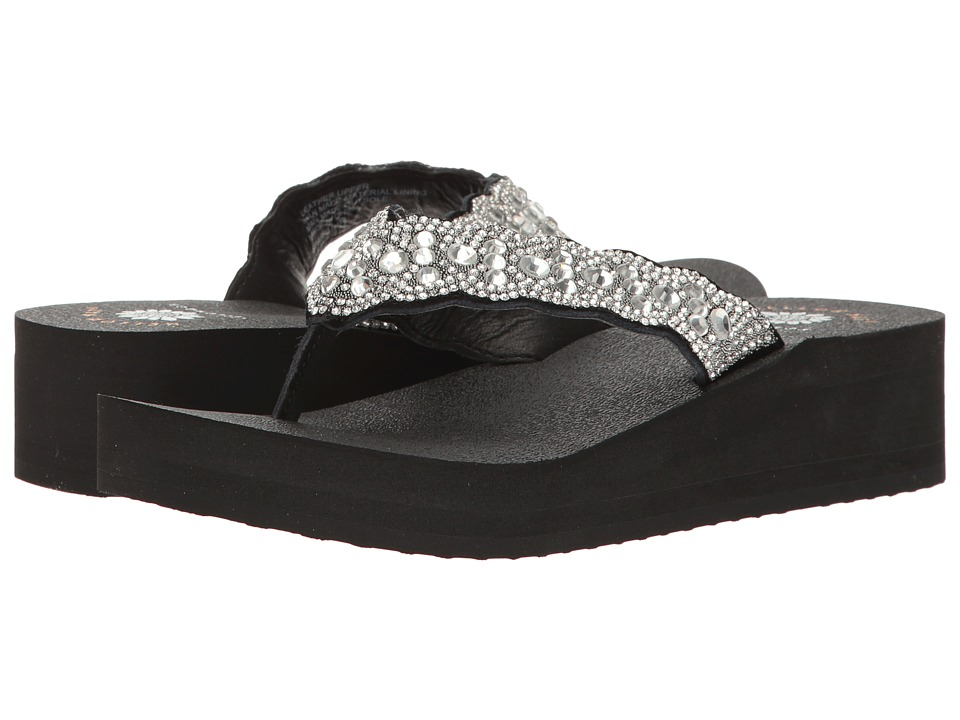 Yellow Box Sparkle (Clear) Women's Shoes