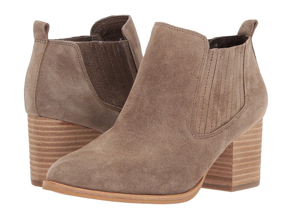 Isola Olicia (Marmotta Light Grey Oiled Cow Suede) Women