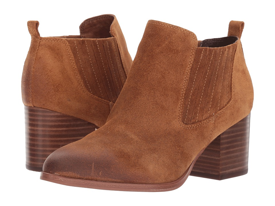 Isola Olicia (Cognac Oiled Cow Suede) Women