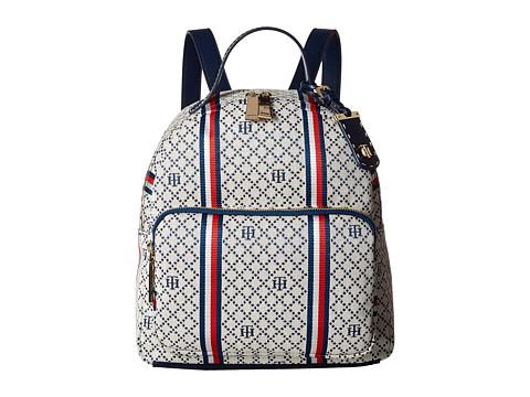 Tommy Hilfiger Julia Dome Backpack - Navy/Natural