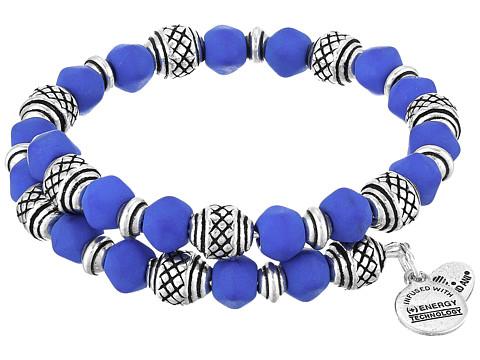 Alex and Ani Seaside Electric Wrap Bracelet - Wildberry