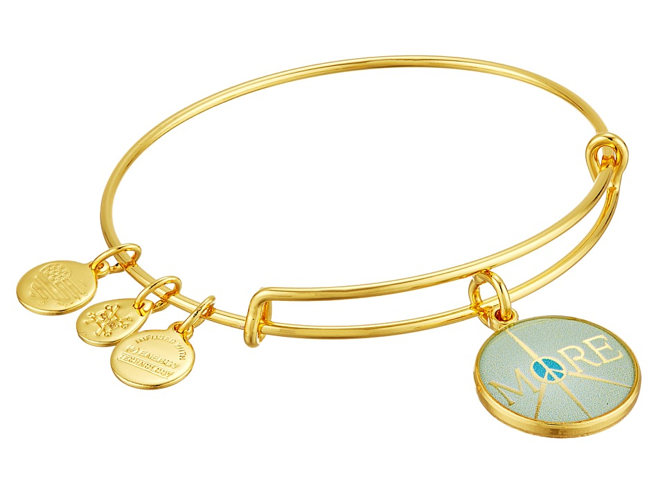 Alex and Ani - Words are Powerful - Seaside More Peace Bangle Bracelet