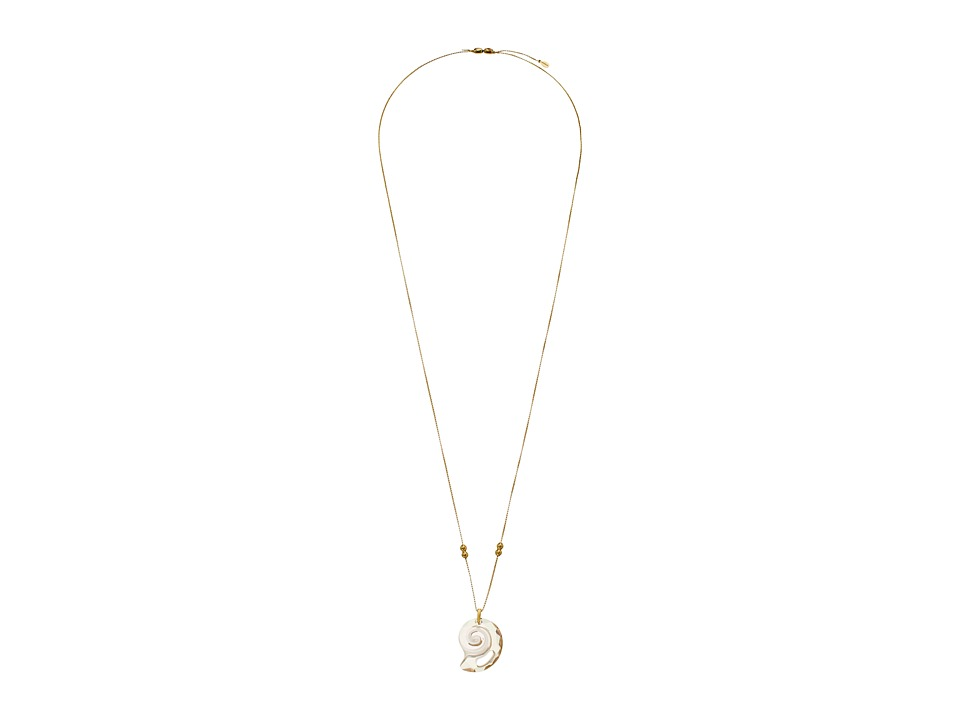 Alex and Ani - Crystal Infusion Pull Chain Necklace, Nautilus, Kelp Green