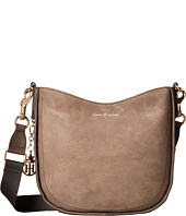 Tommy Hilfiger - City Leather Nubuck Convertible Hobo