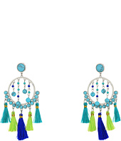 Rebecca Minkoff - Dream Catcher Tassel Statement Earrings