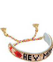 Rebecca Minkoff - Hey Mama Seed Beaded Friendship Bracelet