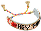 Hey Mama Seed Beaded Friendship Bracelet