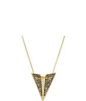 Rebecca Minkoff - Pave Paper Plane Pendant Necklace