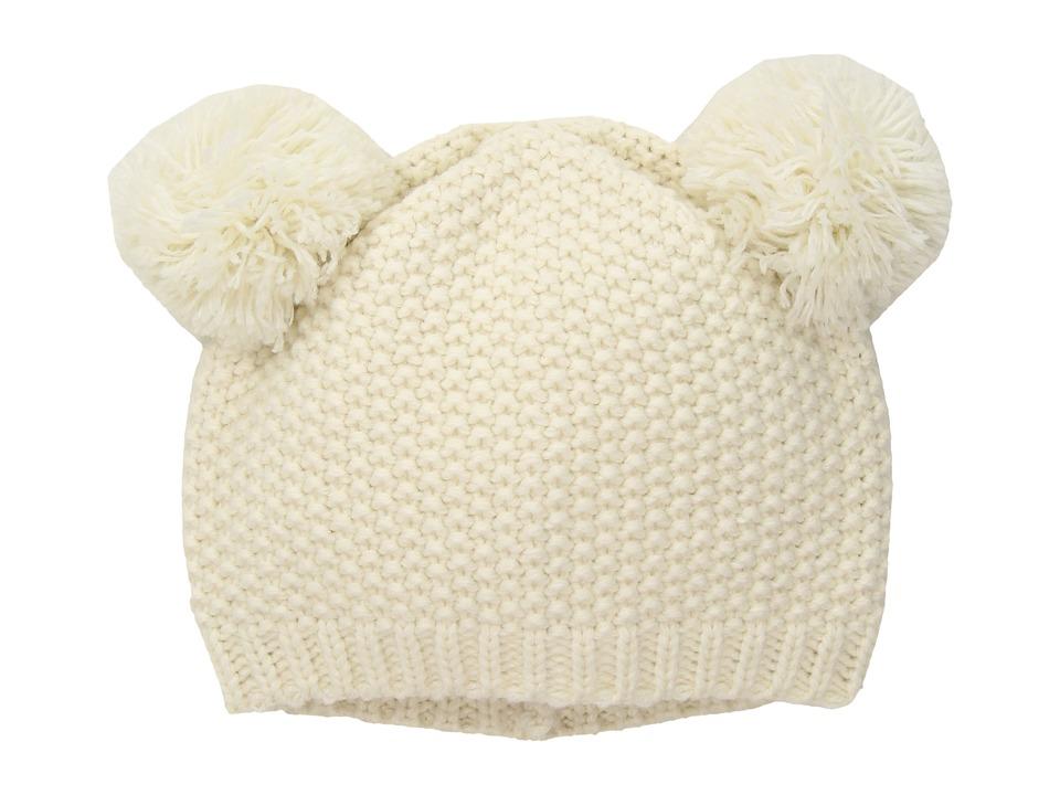 San Diego Hat Company Kids - KNK3523 Knit Cap with Pom Pom (Little Kids/Big Kids) (Ivory) Caps
