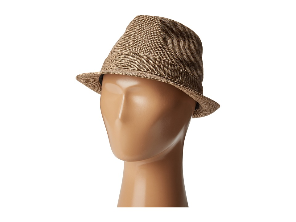 San Diego Hat Company Kids - CTK4198 Fedora (Little Kids/Big Kids) (Brown) Fedora Hats