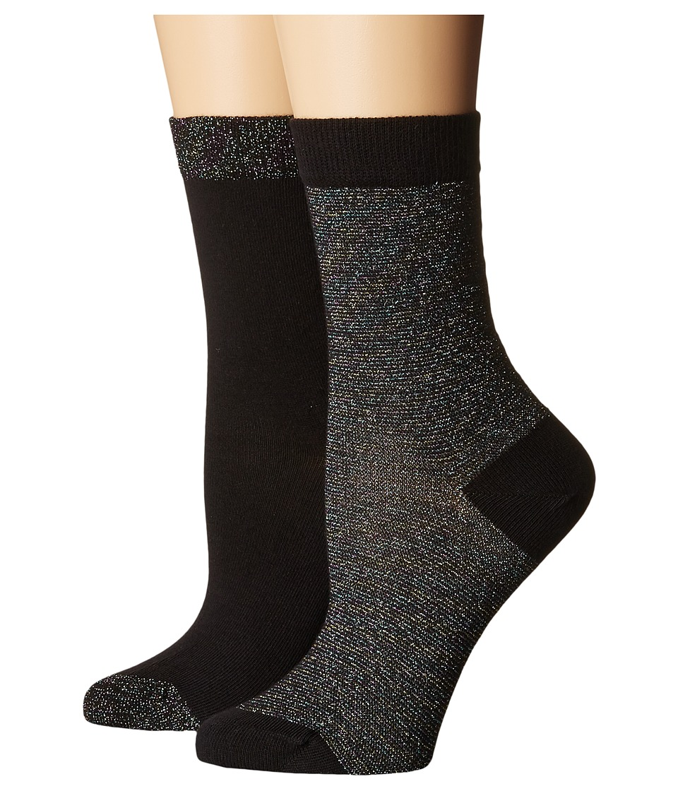 Pretty Polly - Lurex Stripe Socks 2PP