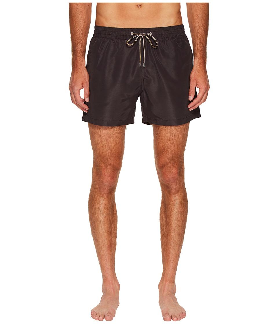 Paul Smith Solid Classic Swim Shorts (Navy) Men