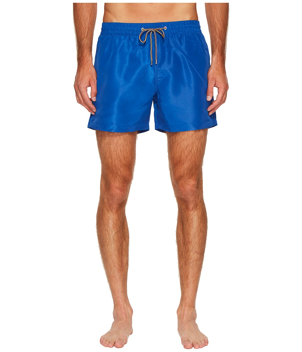 Paul Smith Solid Classic Swim Shorts (Blue) Men